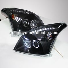 1. Lamp Type: Projector Lens   2. Voltage: 12V   3.It is play and plug   4. for TOYOTA 2003-2008 Prado FJ120   5. LED and Angel