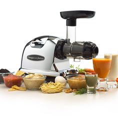 The Omega J8006 Nutrition Center Juicer is the mother of all masticating juicers out there - Read a full REVIEW on JuiceMachine.org - http://juicemachine.org/omega-j8006-nutrition-center-juicer-review/