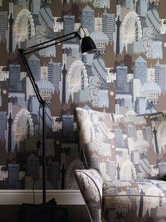 Art House Wallpaper | Linwood Fabrics & Wallpapers