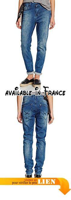 B00V84IT1E : Sansibar aphra jean pour femme coupe boyfriend - Bleu - W26/ L32. Jean boyfriend actuelle en coupe regular fit avec moyenne Hauteur entrejambe et tendance vertieftem étape. La jambe est vers l'ourlet environ étroit. L'élasthanne assure un confort agréable.