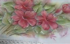 Pintura em Tecido Passo a Passo: Pintura em tecido molhado