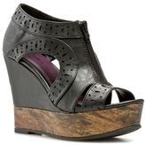 shoes, bootie, wedge,
