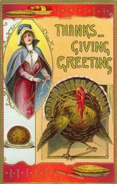 free thanksgiving cross stitch from vintage greeting card