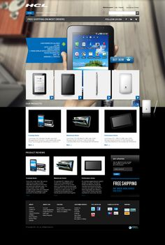 Ecommerce template for HCL