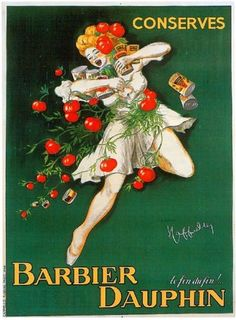 1900s-French-Barbier-Dauphin-Food-Wine-Advertisement-Art-Poster-Print