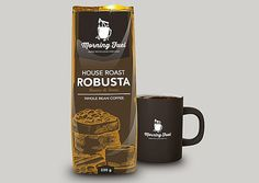 Morning Fuel Coffee (Concept) on Packaging of the World - Creative Package Design Gallery