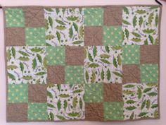 Sweet Pea Baby Quilt by CuddlyQuiltsbyLinda on Etsy, $69.00