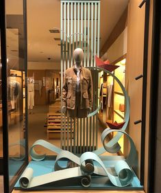 "LORO PIANA, Rodeo Drive, Beverly Hills, California, USA, ""Through the Waves on the Modern High Seas"", photo by Window Shoppings, pinned by Ton van der Veer"