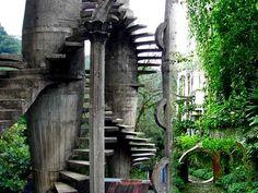Las Pozas - surrealist garden in Mexico