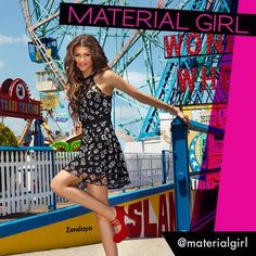 Zendaya Coleman Is The Face Of Material Girl