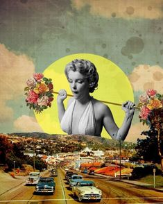 Collage by Trash Riot Collage Kunst, Art Du Collage, Surreal Collage, Collage Design, Mixed Media Collage, Art Design, Surreal Art, Digital Collage, Collage Artists