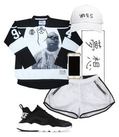 """Biggie"" by a-kisses ❤ liked on Polyvore featuring October's Very Own, NIKE and Revisit"