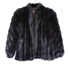 Black Faux Fur Coat ($85) ❤ liked on Polyvore featuring outerwear, coats, faux fur coat, imitation fur coats and fake fur coat