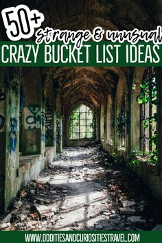 Are you attracted to the weird, the macabre, the strange in the world? - Are you attracted to the weird, the macabre, the strange in the world? Here are 50 crazy bucket lis - Asia Travel, Solo Travel, Travel Usa, Luxury Travel, Travel Couple, Family Travel, Travel Guides, Travel Tips, Travel Articles