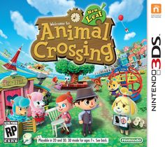 Official box art for Animal Crossing: New Leaf <3