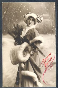 QH113-HIGH-FASHION-LADY-FUR-STOLE-HAT-SNOW-Tinted-PHOTO-pc-GL-Co