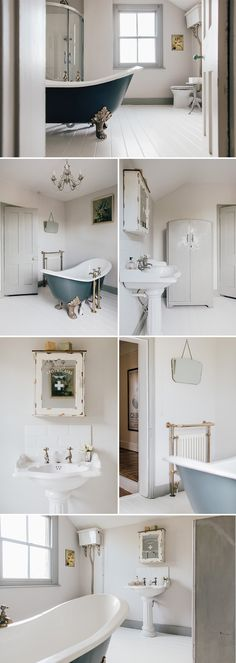 Trendy bathroom white sink taps - Lilly is Love Upstairs Bathrooms, Grey Bathrooms, White Bathroom, Modern Bathroom, Bathroom Cupboards, Bathroom Taps, Sink Taps, Bath Taps, Vintage Bathroom Sinks