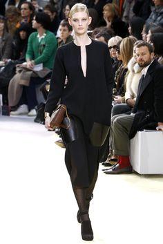 Céline Fall 2010 Ready-to-Wear Fashion Show - Patricia van der Vliet
