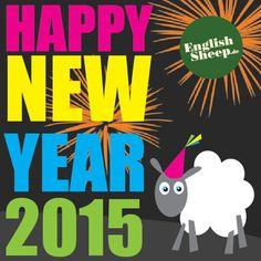 Frohes Neues Jahr 2015  English Sheep  Neues Leben für Ihren Rasen  • Rasen Spezialist • Landschaftsgärtner  •  #rasen  •  #grass garden lawn http://www.englishsheep.de