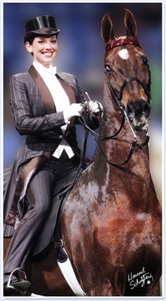 American Saddlebred, Saddle Seat in Horse Show