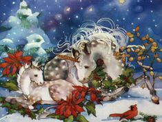 Happy unicorn christmas everybody!