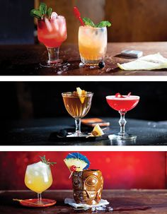 Standards for cocktails are high in Las Vegas, both on and off the strip. We've picked six favorites.