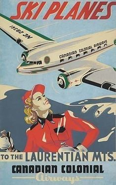 Posters Canada, Ski Posters, Poster Ads, Poster Prints, Art Print, Vintage Ski, Vintage Travel Posters, Vintage Space, Poster Vintage