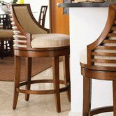 Found it at Wayfair - Tommy Bahama Home Ocean Club Cabana Swivel Counter Stool