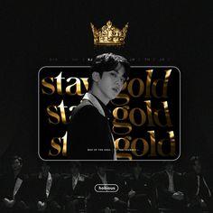 Namjoon, Seokjin, Black And Gold Aesthetic, Jimin, Mnet Asian Music Awards, Stay Gold, Line Friends, Korean Bands, Bts Fans