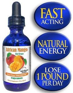 African Mango Weight Loss Drops - Absorbs up to 3X Faster Than Pills