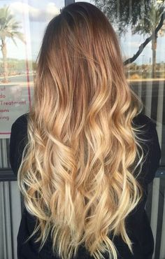 #volume #long #curly hair with #ombre ! See more >> www.amazon.com/onedor