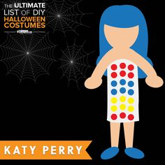 Baby, you're a Firework! ✨ This #Halloween make them Roar! Create a DIY Katy Perry costume! View Here: ecampusdot.com/1MUKey7
