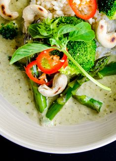 Coconut Green Curry