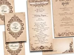 29 Vintage Wedding Invitations Ideas #WeddingInvitations