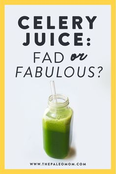 "Celery juice is the latest trending health craze, being called a ""savior when it comes to chronic illness"". Sound too good to be true? Let's separate fact from fiction and dive into the actual health benefits of celery! #celeryjuice #medicalmedium #juicing #chronicillness #autoimmunedisease Paleo Mom, How To Eat Paleo, Paleo Diet, Whole Food Diet, Whole Food Recipes, Celery Juice, Complete Nutrition, Detox Your Body, Juice Cleanse"