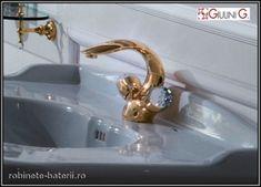 Baterie lavoar Persia Crystal culoare aurie Robin, Swarovski, Sink, Home Decor, Sink Tops, Vessel Sink, Decoration Home, Room Decor, Robins