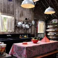 Kitchen-diner | Tropical bungalow house tour |   Livingetc  Photograph by Jean-Marc Wullschleger