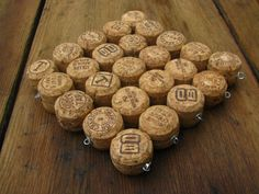 Champagne top half of the corks made into a trivet $12.50