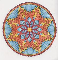 Mystical mandalas 28 done with pencils
