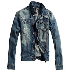 Partiss Men's Slim Fit Denim Jacket, M, Black Partiss http://www.amazon.com/dp/B00VYVUHZW/ref=cm_sw_r_pi_dp_dBYkvb1YCKV2E