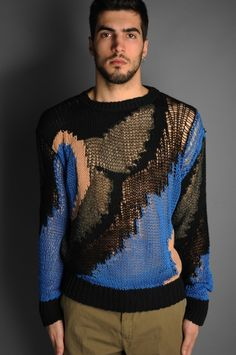 dries van noten what a cool sweater maybe if it goes for 70% off