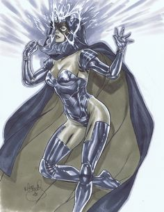 Psylocke by Mark Brooks