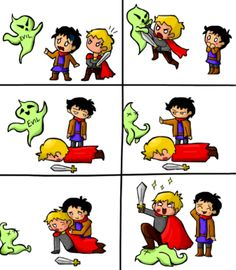 Literally every episode of Merlin. And I love it.