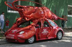 Of The Most Funniest Cars Around The World - bemethis Ford F 250, Lobster Art, Design Autos, Weird Cars, Crazy Cars, S Car, Car Humor, Star Wars Art, The Body Shop