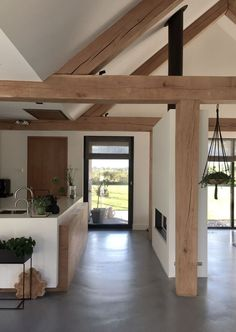 64 Trendy Home Loft Style Ceilings Minimalist House Design, Minimalist Home, Modern Interior, Interior Design, Paint Your House, Building Design, Building Architecture, Light Architecture, Concept Architecture