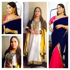 """@Kedhar333: Sorry sista @geetakapur cud not come see u on ur set today, but like always looking stunnin, ""Beaty.."
