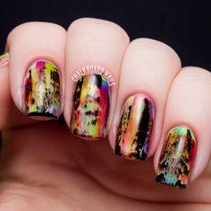 Instagram photo by chalkboardnails  #nail #nails #nailart