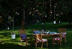 An Enchanted Evening: Whimsical Outdoor Accents.  magical!!!!!