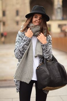 scarves and sweaters