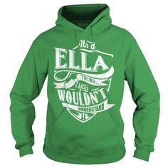 It's Ella thing, you wouldn't understand